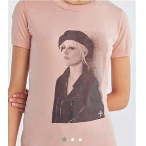 Obey Debbie Harry Ringer Tee- NWT